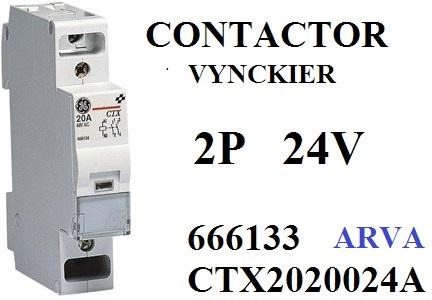 vynckier contactor   p    open