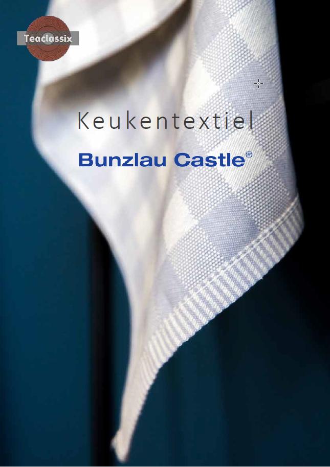 Brochure Bunzlau Castle Keukentextiel